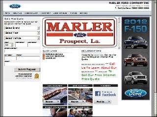 SIC ...  sc 1 st  Louisiana - Automotive Motorcycle Boat Dealers u0026 Service ... & Marler Ford Co Inc 22077 Highway 167 Dry Prong Grant Louisiana ... markmcfarlin.com